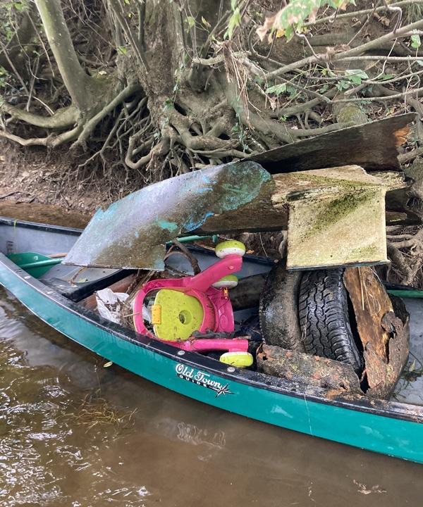 Deux tonnes de déchets dans la Creuse